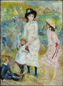 children_on_the_seashore_pierre_auguste_renoir_low
